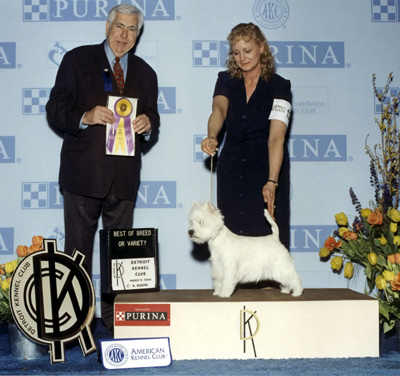 information on Czarcrest wins at the Progressive Kennel Club Show